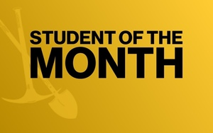 April High School Student of the Month