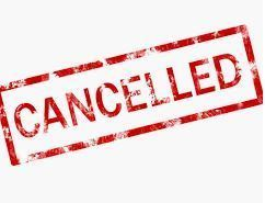 Activities Cancelled or Postponed