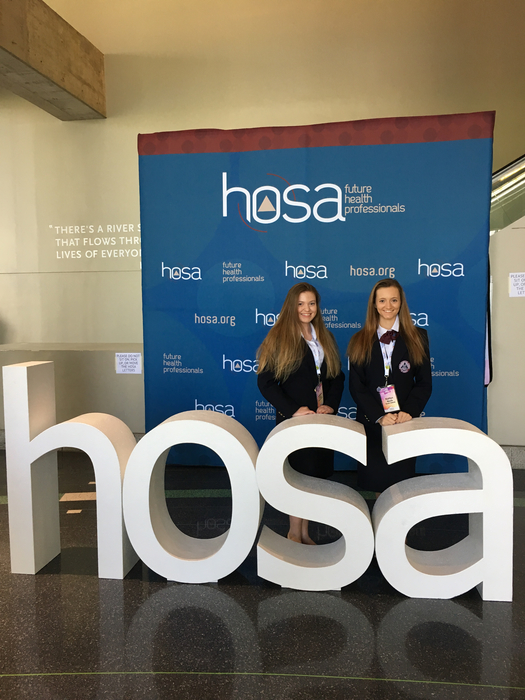 HOSA Competition in Dallas, TX.